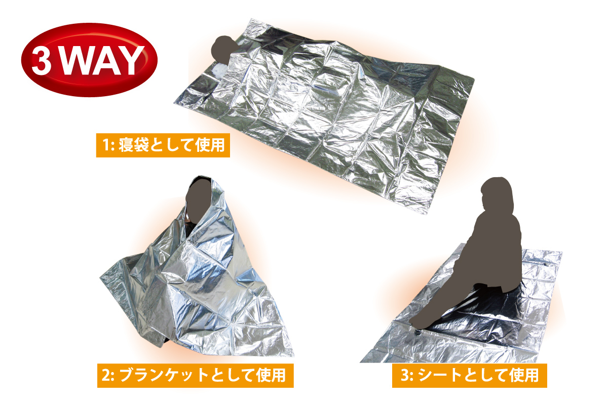 Emergency Portable Sleeping Bag