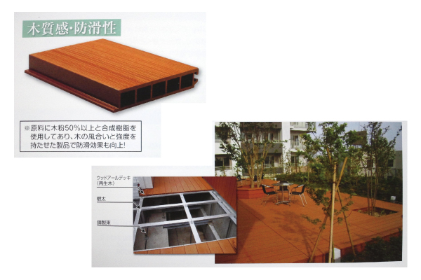 Plastic Wood Deck