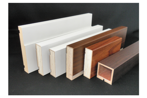 Building materials, door frames, window frames